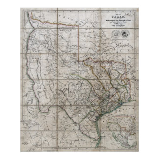 1841 Republic of Texas Poster