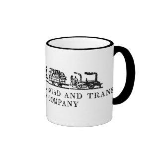 1843 New Jersey Railroad Ringer Mug