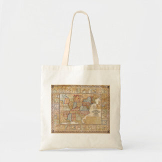 1845 Samuel Mitchell Wall Map of the United States Tote Bag