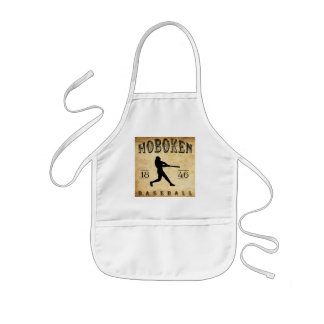 1846 Hoboken New Jersey Baseball Kids' Apron