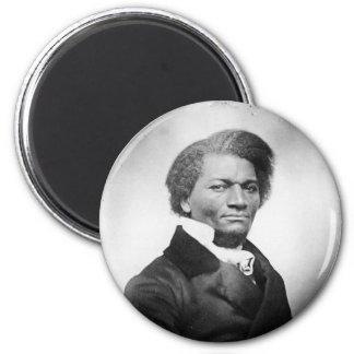 ~ 1847 del retrato de Frederick Douglass Imán Redondo 5 Cm