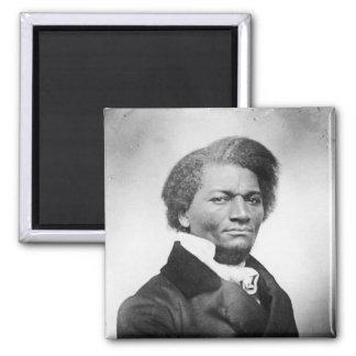 ~ 1847 del retrato de Frederick Douglass Imán Cuadrado