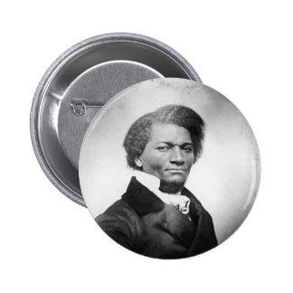 ~ 1847 del retrato de Frederick Douglass Pin Redondo De 2 Pulgadas