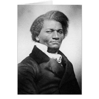 ~ 1847 del retrato de Frederick Douglass Tarjeta De Felicitación