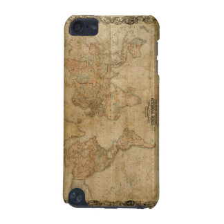 1847 Old World Map iPod Touch Cases