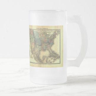 1848 Thunot Duvotenay Map:  Etats-Unis & Mexique Coffee Mug