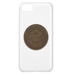 1849 Liberty Head Cent Case For iPhone 5C