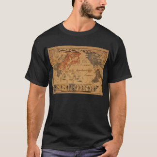 1850 Bankoku jinbutsu no zu People of many nations T-Shirt