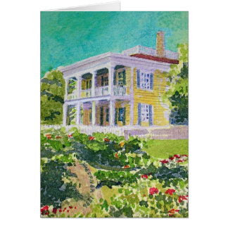 1850 Nichols-Rice-Cherry House Card