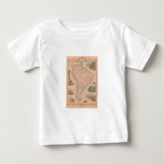 1851 South America América do Sul Baby T-Shirt