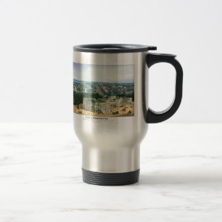 1852 Color Lithograph - View of Washington 15 Oz Stainless Steel Travel Mug