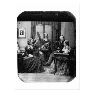 ~ 1852 del retrato de la familia postal