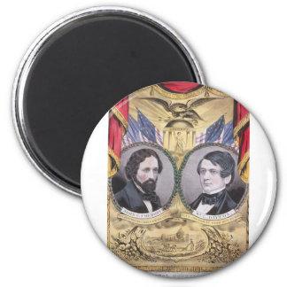 1856 Fremont - Dayton 2 Inch Round Magnet