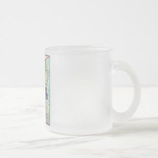 1856 Government Map of Nicaragua by A.H. Jocelyn Frosted Glass Coffee Mug