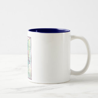 1856 Government Map of Nicaragua by A.H. Jocelyn Two-Tone Coffee Mug