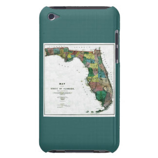 1856 Map of the State of Florida by Columbus Drew iPod Touch Case-Mate Case