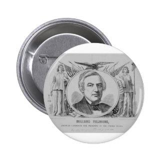 1856 Millard Filmore Pin