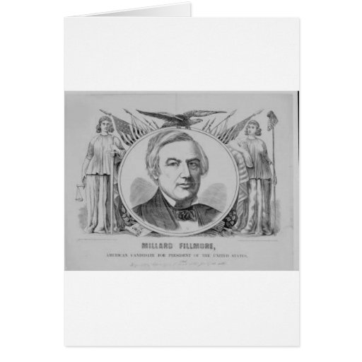 1856 Millard Filmore Card