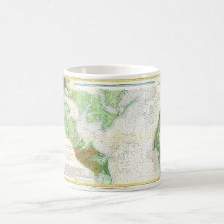 1857 Coast Survey Map or Chart of Patapsco RIver Classic White Coffee Mug