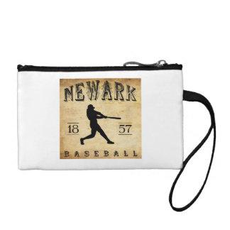 1857 Newark New Jersey Baseball Change Purse
