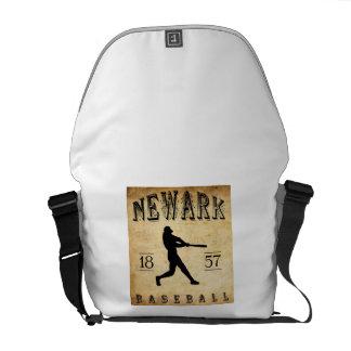 1857 Newark New Jersey Baseball Messenger Bags