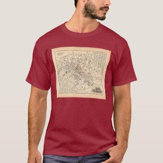 1858 Map: Itineraire des Omnibus dans Paris France T-Shirt