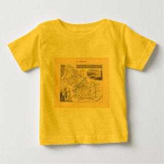 1858 Map of Loir et Cher Department, France Shirts