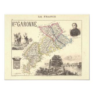 1858 mapa del departamento de Haute-Garonne, Anuncios Personalizados
