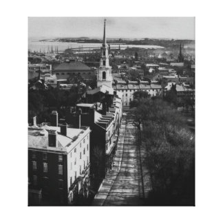 1859:  A view of Boston from the State House Canvas Print