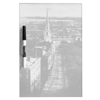 1859:  A view of Boston from the State House Dry-Erase Board