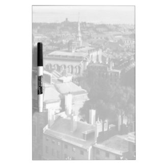 1859:  A view of Boston looking south Dry Erase Board