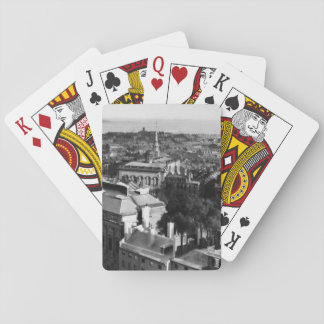 1859:  A view of Boston looking south Playing Cards