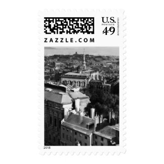 1859:  A view of Boston looking south Stamp