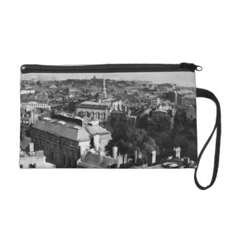 1859:  A view of Boston looking south Wristlet Purse