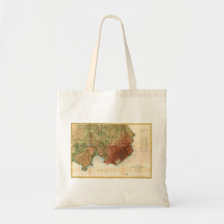 1859 Coast Survey Map of San Francisco Canvas Bag