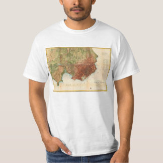 1859 Coast Survey Map of San Francisco T-Shirt