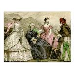 1859 Fashions Postcards