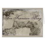 1859 San Francisco Bay Map Stationery Note Card