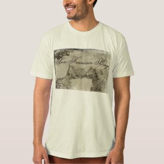 1859 San Francisco Bay Map T-Shirt