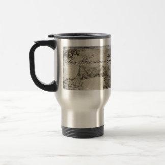 1859 San Francisco Bay Map Travel Mug