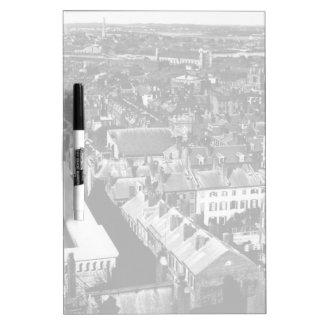 1859:  The city of Boston, Massachusetts Dry Erase Whiteboards