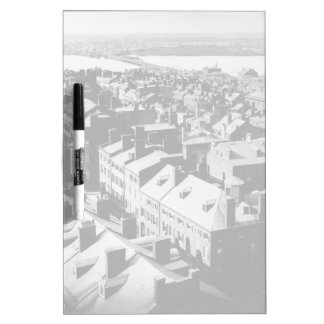 1859: The city of Boston, Massachusetts Dry-Erase Whiteboards