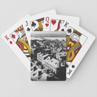 1859: The city of Boston, Massachusetts Playing Cards