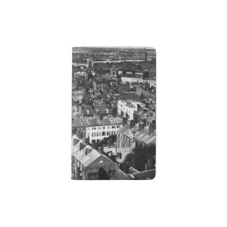 1859:  The city of Boston, Massachusetts Pocket Moleskine Notebook