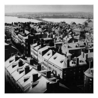 1859: The city of Boston, Massachusetts Poster