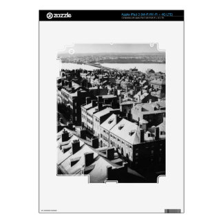 1859: The city of Boston, Massachusetts Skins For iPad 3