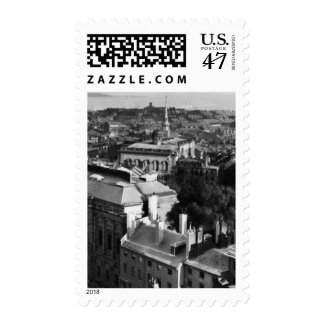 1859:  Una vista de Boston que mira del sur Sello Postal