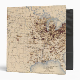 185 Value products/sq mile 3 Ring Binder