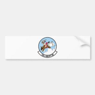 185th Airlift Squadron Car Bumper Sticker