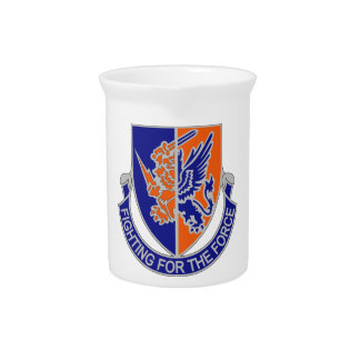 185th Aviation Regiment - Fighting For The Force Beverage Pitcher